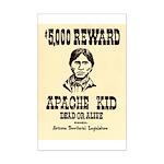 The Apache Kid Mini Poster Print