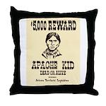 The Apache Kid Throw Pillow
