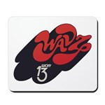 WAVZ New Haven '73 - Mousepad 
