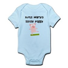 Aunts Little Piggy (Custom) Body Suit
