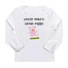 Uncles Little Piggy (Custom) Long Sleeve T-Shirt