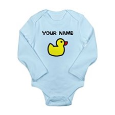 Custom Yellow Duck Body Suit