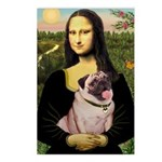 Mona's Fawn Pug (#2) Postcards (Package of 8)