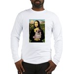Mona's Fawn Pug (#2) Long Sleeve T-Shirt