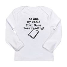 Me And My Uncle Love Reading Long Sleeve T-Shirt