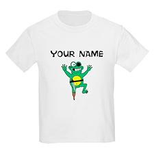 Custom Pirate Frog T-Shirt