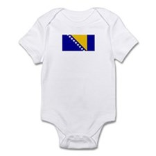 bosnia herzegovina flag Infant Bodysuit