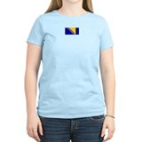 bosnia herzegovina flag T-Shirt
