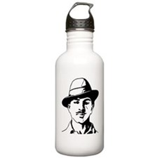 Bhagat Singh Black and Water Bottle