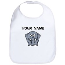 Custom Cartoon Elephant Bib