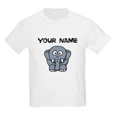 Custom Cartoon Elephant T-Shirt