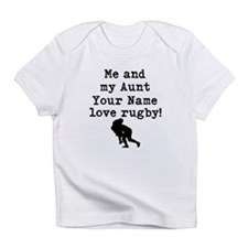 Me And My Aunt Love Rugby Infant T-Shirt