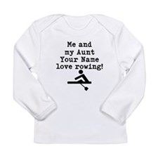 Me And My Aunt Love Rowing Long Sleeve T-Shirt