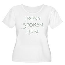 Irony-terra-GRN Plus Size T-Shirt