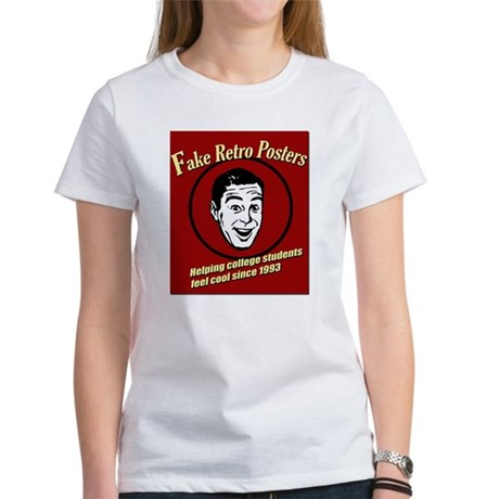 Funny Retro Poster Women's T-Shirt