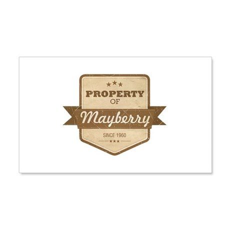 Property of Mayberry 22x14 Wall Peel