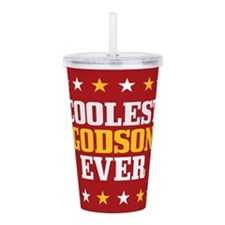 Coolest Godson Ever Acrylic Double-wall Tumbler