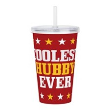 Coolest Hubby Ever Acrylic Double-wall Tumbler