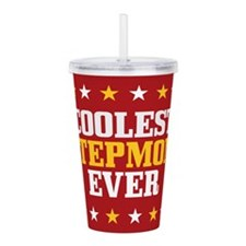 Coolest Stepmom Ever Acrylic Double-wall Tumbler