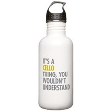 Its A Cello Thing Water Bottle