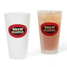 Brew Master Drinking Glass