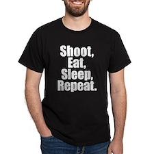 Shoot Eat Sleep Repeat T-Shirt