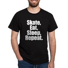 Skate Eat Sleep Repeat T-Shirt
