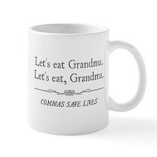 Let's Eat Grandma Commas Save Lives Mugs