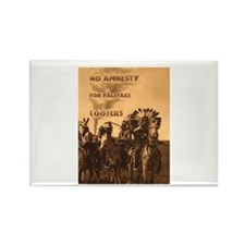 No Amnesty...for Paleface Loo Rectangle Magnet (10