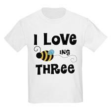 3rd Birthday Bee T-Shirt
