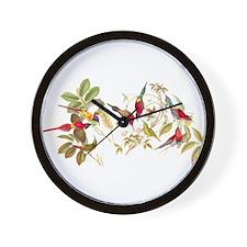 Gould Sunbird Birds Wall Clock