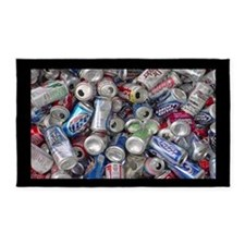 Empty Beer and Soda Cans 3'x5' Area Rug