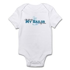 My daddy, my sailor, my hero Infant Bodysuit