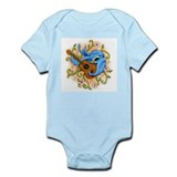 Song Bird Guitar Onesie