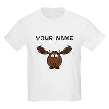 Custom Cartoon Moose T-Shirt