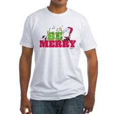 Snoopy: Be Merry Fitted T-Shirt