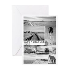 Cape Charles. Card Greeting Cards