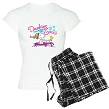 Snoopy and Woodstock Dashin pajamas