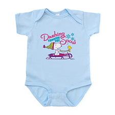 Snoopy and Woodstock Dashing Throu Infant Bodysuit