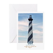 Cape Hatteras. Card Greeting Cards