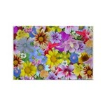 Field of Flowers Rectangle Magnet