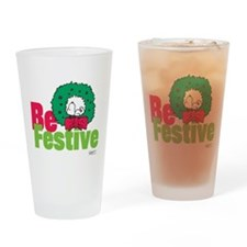 Snoopy: Be Festive Drinking Glass