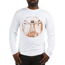 vitruviancropped2_9x9 Long Sleeve T-Shirt