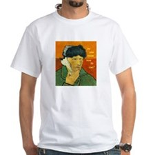 Vincent van Gogh Cues White T-Shirt