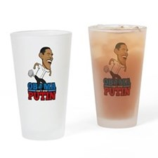 Obama Can't Stop Putin Pooting Fart Drinking Glass