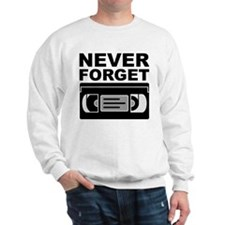 Never Forget VHS tape cartridge cassette movies vi