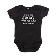 I Get My Swag From My Aunt Baby Bodysuit