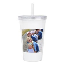 Add your Square Photo Acrylic Double-wall Tumbler