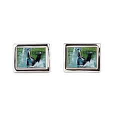 Hold your breath and go for  Rectangular Cufflinks