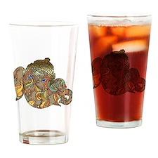 Ganesha Print Drinking Glass